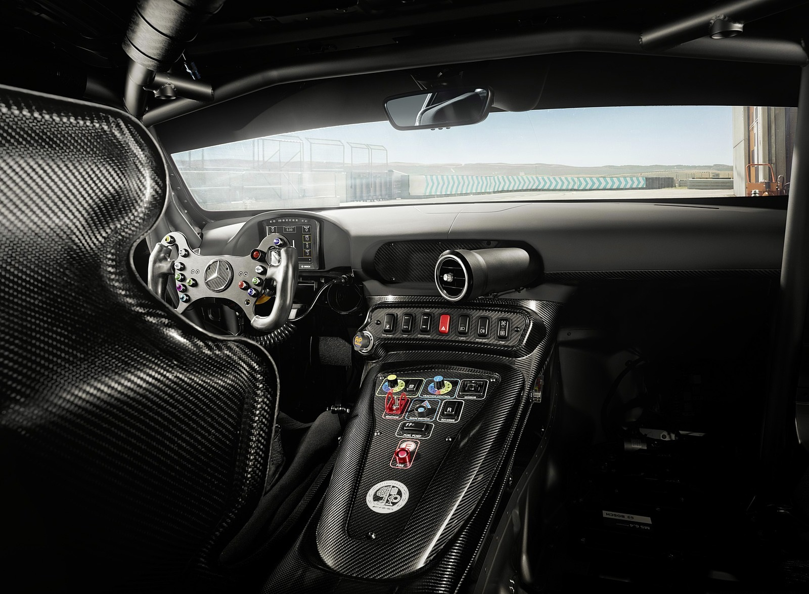 2020 Mercedes-AMG GT4 Interior Wallpapers (7)