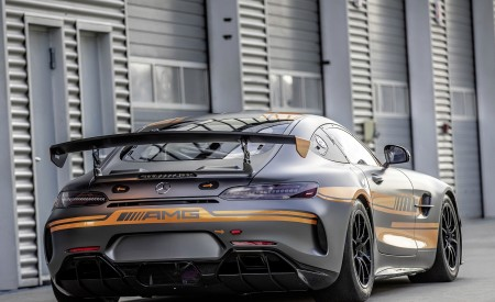 2020 Mercedes-AMG GT4 Rear Three-Quarter Wallpapers 450x275 (6)