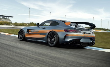 2020 Mercedes-AMG GT4 Rear Three-Quarter Wallpapers 450x275 (4)