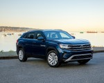 2020 Volkswagen Atlas Cross Sport SE with Technology (Color: Tourmaline Blue) Front Three-Quarter Wallpapers 150x120 (10)