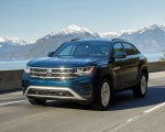 2020 Volkswagen Atlas Cross Sport SE with Technology (Color: Tourmaline Blue) Front Wallpapers 150x120 (4)