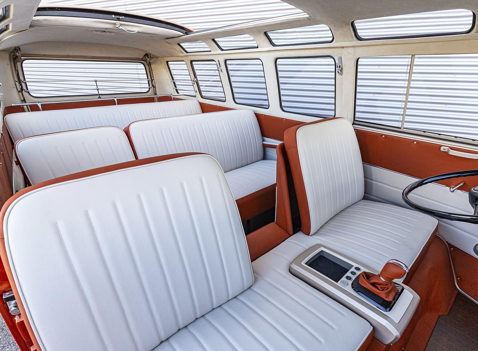 2020 Volkswagen e-BULLI Concept Interior Seats Wallpapers (10)