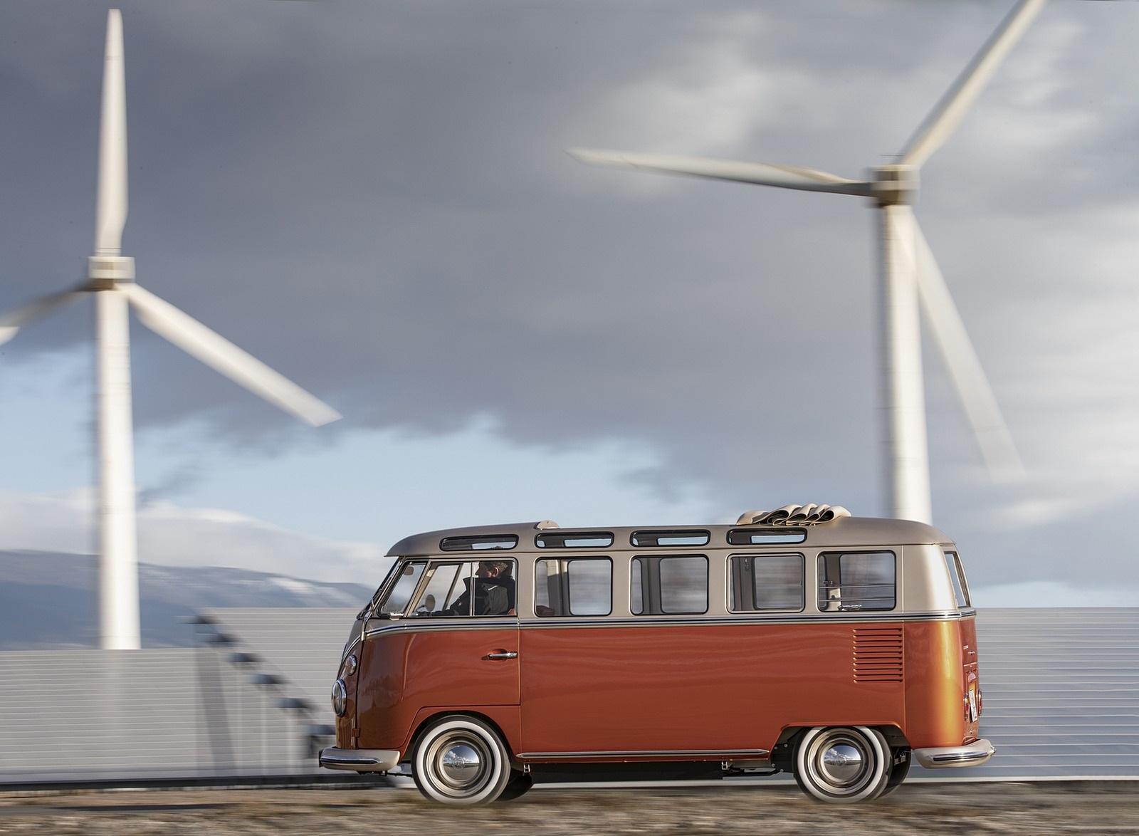 2020 Volkswagen e-BULLI Concept Side Wallpapers (6)
