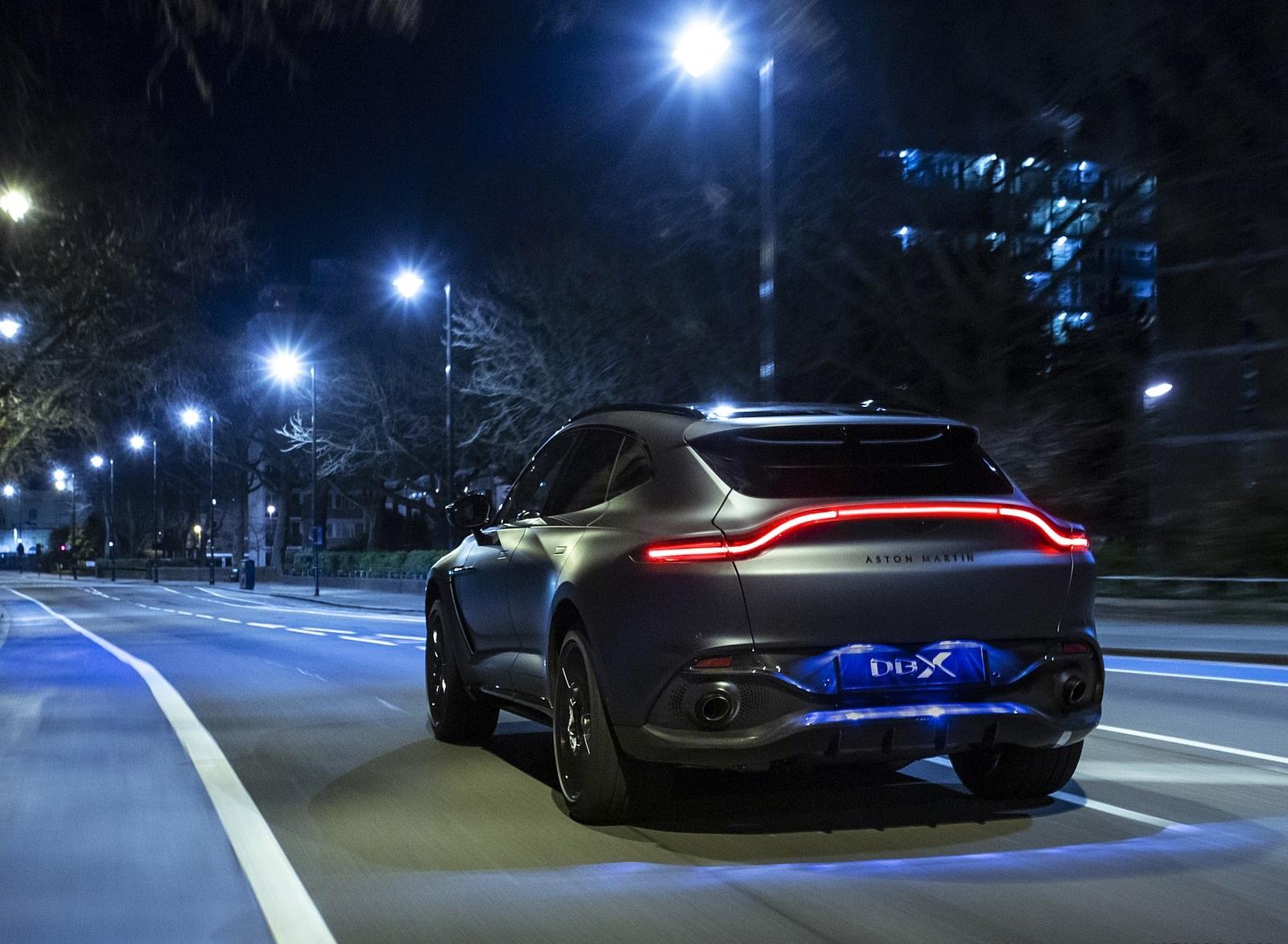 2021 Aston Martin Dbx Q By Am Rear Wallpapers 3 Newcarcars