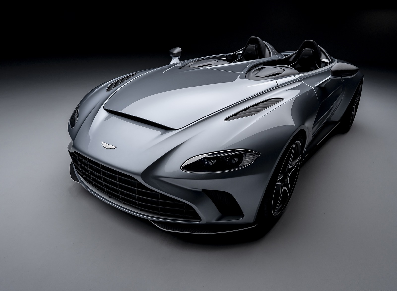 2021 Aston Martin V12 Speedster Front Three-Quarter Wallpapers (1)