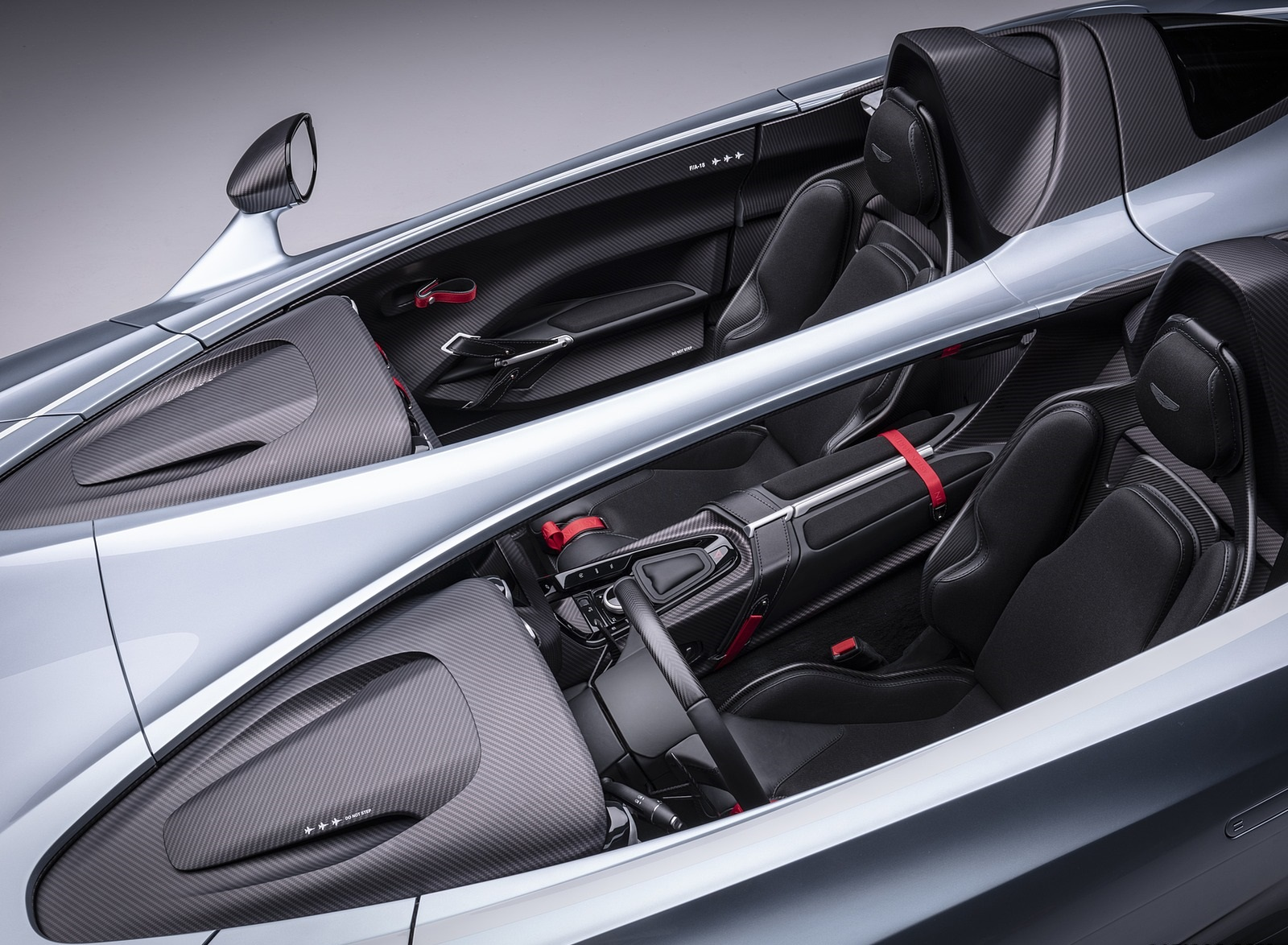 2021 Aston Martin V12 Speedster Interior Wallpapers (10)