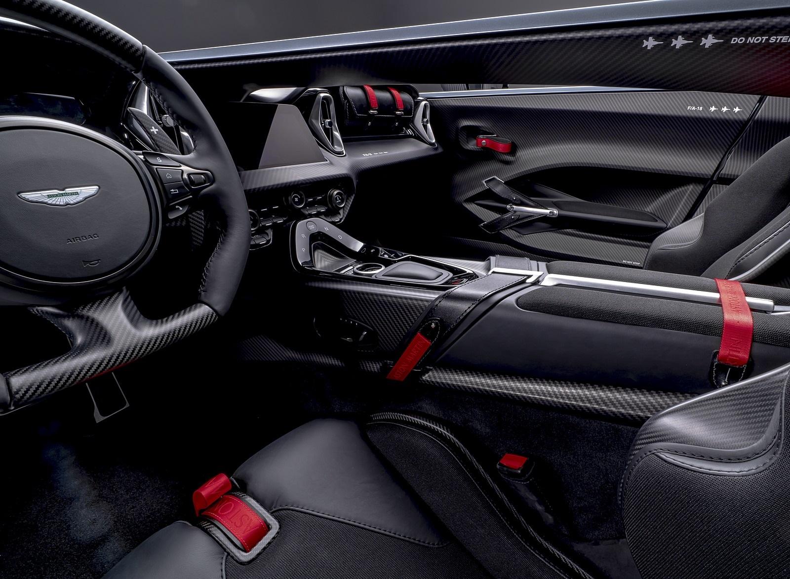2021 Aston Martin V12 Speedster Interior Wallpapers 11 Newcarcars