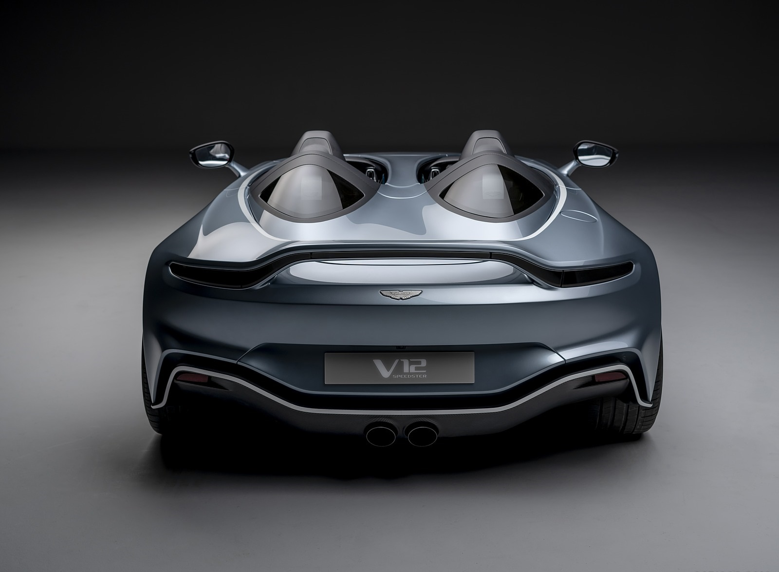 2021 Aston Martin V12 Speedster Rear Wallpapers (6)