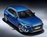 2021 Audi A3 Sportback (Color: Atoll Blue) Front Three-Quarter Wallpapers 150x120 (13)