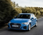 2021 Audi A3 Sportback (Color: Atoll Blue) Front Three-Quarter Wallpapers 150x120 (42)