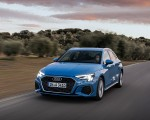 2021 Audi A3 Sportback (Color: Atoll Blue) Front Three-Quarter Wallpapers 150x120 (43)