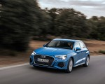 2021 Audi A3 Sportback (Color: Atoll Blue) Front Three-Quarter Wallpapers 150x120 (44)