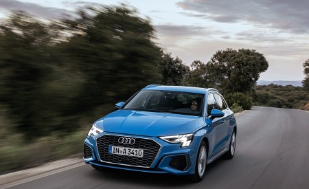 2021 Audi A3 Sportback (Color: Atoll Blue) Front Wallpapers 450x275 (47)