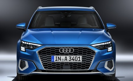 2021 Audi A3 Sportback (Color: Atoll Blue) Front Wallpapers 450x275 (83)