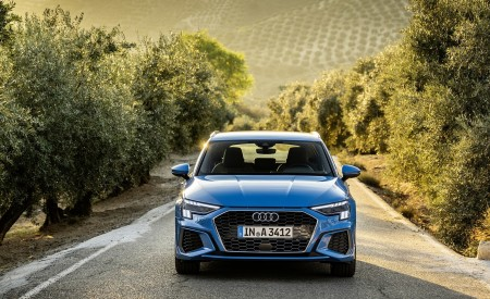 2021 Audi A3 Sportback (Color: Atoll Blue) Front Wallpapers 450x275 (59)