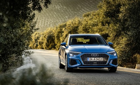 2021 Audi A3 Sportback (Color: Atoll Blue) Front Wallpapers 450x275 (53)
