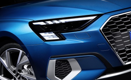 2021 Audi A3 Sportback (Color: Atoll Blue) Headlight Wallpapers 450x275 (88)