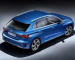2021 Audi A3 Sportback (Color: Atoll Blue) Rear Three-Quarter Wallpapers 150x120 (16)