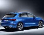 2021 Audi A3 Sportback (Color: Atoll Blue) Rear Three-Quarter Wallpapers 150x120 (15)