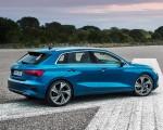 2021 Audi A3 Sportback (Color: Atoll Blue) Rear Three-Quarter Wallpapers 150x120 (9)