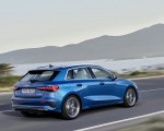 2021 Audi A3 Sportback (Color: Atoll Blue) Rear Three-Quarter Wallpapers 150x120 (2)