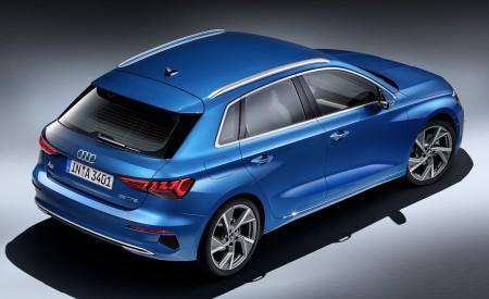 2021 Audi A3 Sportback (Color: Atoll Blue) Rear Three-Quarter Wallpapers 450x275 (85)
