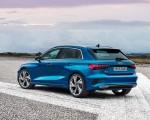 2021 Audi A3 Sportback (Color: Atoll Blue) Rear Three-Quarter Wallpapers 150x120 (10)