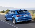 2021 Audi A3 Sportback (Color: Atoll Blue) Rear Three-Quarter Wallpapers 150x120 (3)