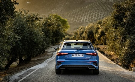 2021 Audi A3 Sportback (Color: Atoll Blue) Rear Wallpapers 450x275 (65)
