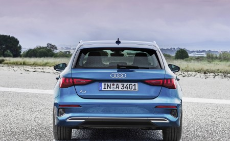 2021 Audi A3 Sportback (Color: Atoll Blue) Rear Wallpapers 450x275 (80)