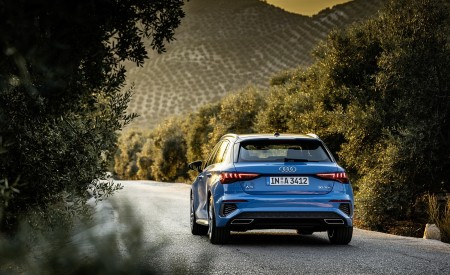 2021 Audi A3 Sportback (Color: Atoll Blue) Rear Wallpapers 450x275 (66)