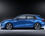 2021 Audi A3 Sportback (Color: Atoll Blue) Side Wallpapers 150x120 (17)