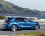 2021 Audi A3 Sportback (Color: Atoll Blue) Side Wallpapers 150x120 (4)