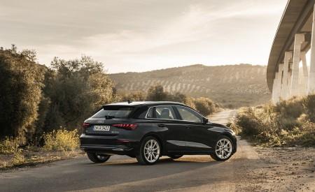 2021 Audi A3 Sportback (Color: Manhattan Gray) Rear Three-Quarter Wallpapers 450x275 (41)