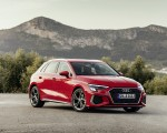 2021 Audi A3 Sportback (Color: Tango Red) Front Three-Quarter Wallpapers 150x120 (5)