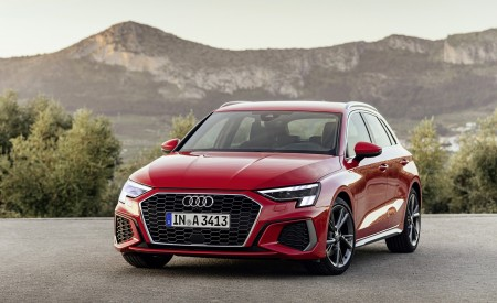 2021 Audi A3 Sportback (Color: Tango Red) Front Wallpapers 450x275 (6)