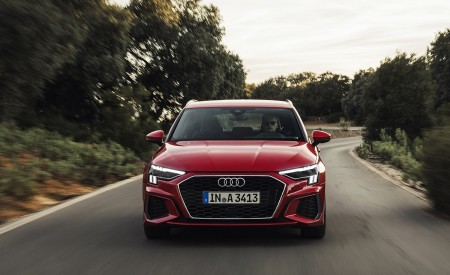2021 Audi A3 Sportback (Color: Tango Red) Front Wallpapers 450x275 (3)