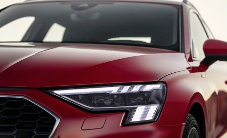 2021 Audi A3 Sportback (Color: Tango Red) Headlight Wallpapers 450x275 (11)