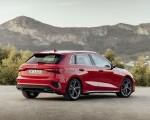 2021 Audi A3 Sportback (Color: Tango Red) Rear Three-Quarter Wallpapers 150x120 (8)