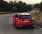 2021 Audi A3 Sportback (Color: Tango Red) Rear Wallpapers 150x120 (4)