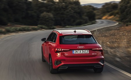 2021 Audi A3 Sportback (Color: Tango Red) Rear Wallpapers 450x275 (4)