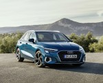 2021 Audi A3 Sportback (Color: Turbo Blue) Front Three-Quarter Wallpapers 150x120 (26)