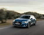 2021 Audi A3 Sportback (Color: Turbo Blue) Front Three-Quarter Wallpapers 150x120 (19)