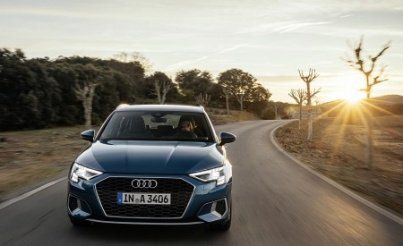 2021 Audi A3 Sportback (Color: Turbo Blue) Front Wallpapers 450x275 (20)