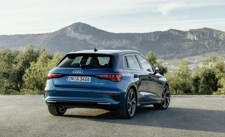 2021 Audi A3 Sportback (Color: Turbo Blue) Rear Wallpapers 450x275 (31)
