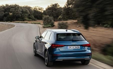 2021 Audi A3 Sportback (Color: Turbo Blue) Rear Wallpapers 450x275 (22)