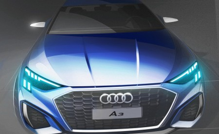 2021 Audi A3 Sportback Design Sketch Wallpapers 450x275 (110)