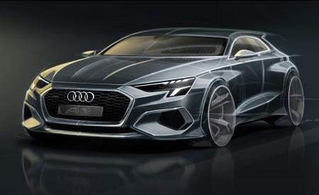 2021 Audi A3 Sportback Design Sketch Wallpapers 450x275 (109)
