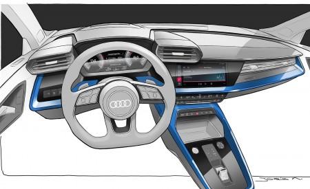 2021 Audi A3 Sportback Design Sketch Wallpapers 450x275 (115)