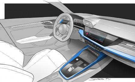 2021 Audi A3 Sportback Design Sketch Wallpapers 450x275 (114)